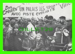 CYCLISME - PARIS PORTE DE PANTIN 1977  - PHOTO C. FATH - TIRAGE NUMÉROTE No 128/ 290 EX - - Cyclisme