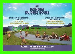 CYCLISME - MONDIAL DU DEUX ROUES - SALON INTERNATIONAL DU CYCLE 2003 - PARIS- PORTE DE VERSAILLES - - Cyclisme