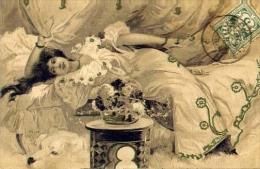 Donnine - 1924 - Formato Piccolo Viaggiata - Donne