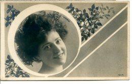 Style Reutlinger - Jeanne LUDWIG 1867-1898 - Comédie Française - Cadre Art Nouveau E Michau - Théâtre