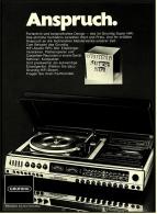 Reklame Werbeanzeige  -  Grundig Super HiFi Musik-Anlage RPC 300  -  Von 1977 - Wissenschaft & Technik