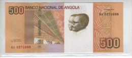 Novedad  Nota 500 Kwanzas Angola 2012 Neuf Escassa  Acet Paypal - Angola