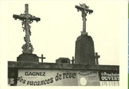 """HUMOUR MACABRE .. CIMETIERE CROIX TOMBE """"GAGNEZ DES VACANCES DE REVE""""  SERGE DE SAZO  ED. REV'IMAGE Dmn 39 - Humor"""