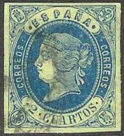 ESPAÑA 1862 - Edifil #57 - VFU - Usados