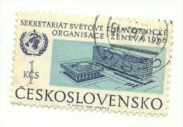 1966 - Cecoslovacchia 1473 Sede Dell'OMS C2461, - WHO