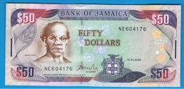 JAMAICA -   50 Dolar   2008 SC  P-83 - Jamaica