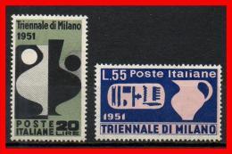 ITALIA REP. 1951 - Triennale Di Milano MNH ** - 1946-60: Nuovi