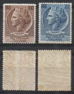 ITALIA REP. 1954 - Siracusana Alti Valori MNH ** - 1946-60: Nuevos