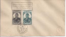 Félix Eboué, Sur Lettre RARE - Guyane Française (1886-1949)