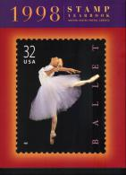 USA - Commemorative Stamp Yearbook, Année Complète, Avec Timbres**, 1998 - Etats-Unis