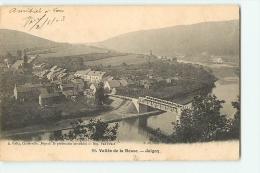 JOIGNY. Vallée De La Meuse. Dos Simple. 2 Scans. Edition Gelly - France