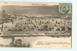 NOUZON : Vue Prise De L'Agasse, Bois La Dame. Vallée De La Meuse. Dos Simple. 2 Scans. - France