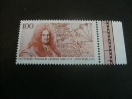 De357a- Stamp  -MNh  - Germany-1996- SC. 1933- Gottfried Wilhelm Leibniz - Summer 1996: Atlanta