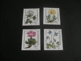 De490- Set MNH Germany Berlin- 1983-  SC. 9NB204-207- Flowers - Plants