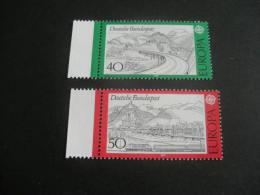De532- Set MNH Germany - 1977-SC.  1248-1249- CEPT- Europa- - Europa-CEPT
