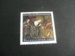 De613- Stamp MNH Germany- 1986- SC. B651- Weihnachten - Christmas - Kerstmis