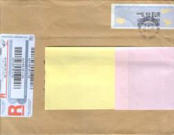 France-Lettre Recommandé, Expédiée à Partir De Nanterre En 2011, En Roumanie, Suceava - France