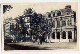 Alg�rie--ALGER--1948--Th��tre Municipal (anim�e,tramway � gauche)cpsm 9 x 14 n�298 �d La Cigogne--jolie carte-timbre---