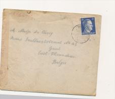 BRIEF 1942 VAN DUITSLAND NAAR BELGIE  CENSUUR