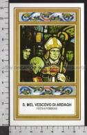 Xsa-11819 S. San MEL VESCOVO DI ARDAGH LONGFORD Santino Holy Card - Religion & Esotericism
