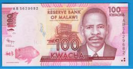 MALAWI - 100 Kwacha  2012 SC  P- New - Malawi