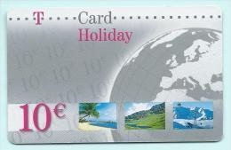 Germany Deutschland (269)T-Pay Micro-money SC TC 0 01 04/05 Planet € 10 - Deutschland