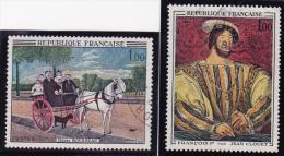 FRANCE    1967  Y.T. N° 1517  1518  Oblitéré - Frankrijk
