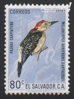 1963 - EL SALVADOR - Y&T 188 (Aériens)(*/MH) - Melanerpes Aurifrons Santacruzi - Salvador
