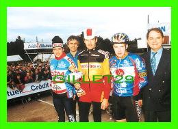 CYCLISME - 12e CYCLO-CROSS INTERNATIONAL DE DIJON, 1999 - TOM VANNAPEN, MARC JANSSENS, PETER WILLEMSENS - ÉCRITE - - Cyclisme