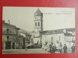 09 Le Mas D'azil - Eglise Et Presbytere - France
