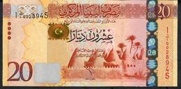 LIBYA  P79 20   DINARS    2013      UNC. - Libye
