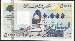 LEBANON LIBAN  P77 50.000  LIVRES   1999    UNC. - Liban