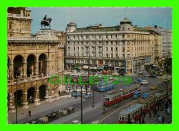 WIEN, VIENNE, AUTRICHE - HOTEL BRISTOL - ANIMÉE - CENTRE OPPOSITE THE OPERA HOUSE - - Vienne