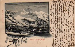 KLEINE SCHEIDEGG   (Voir Scans Recto Et Verso) - BE Berne