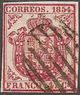 ESPAÑA 1854 - EDIFIL #33 - Precio Cat. €3 - Usados