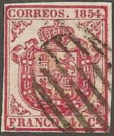 ESPAÑA 1854 - Edifil #33 - VFU - 1850-68 Reino: Isabel II
