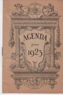 Agenda Avec Calendrier Pour 1923 - Petit Format : 1921-40