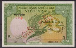 S.VIETNAM  BANKNOTES  PICK N°2   SPECIMEN / GIAY MAU - Vietnam
