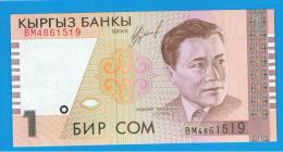 KYRGYZTAN - KIRGUISTAN   1 Som  1999  SC  P-15 - Kirguistán