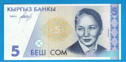 KYRGYZTAN - KIRGUISTAN   5  Som  ND  SC  P-8 - Kirguistán