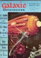 GALAXIE ANTICIPATION N° 59 (1ère Série) Octobre 1958. Voir Sommaire. - Livres, BD, Revues