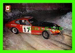 SPORTS AUTOMOBILES - RALLYE - DATSUN 240 Z, 2498 Cc, 200 CV - No 3 SERIE AUTOMOBILES RALLYE - - Rallyes