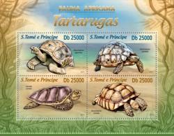 SAO TOME 2013 ** M/S Turtles Schildkröten A1328 - Tortugas
