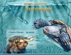 SAO TOME 2013 ** S/S Turtles Schildkröten A1328 - Tortugas