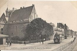 NANTES - 44 -  Le Chateau Vue Prise Du Quai Du Port-Maillard - -- MEILLEUR PRIX -  120713 - Nantes