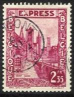 Belgique - N005 - Expres - N°292D Gand-Gent   Curiosité X Partiellement Encré - Curiosités