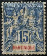 Martinique (1892) N 36 * (charniere)