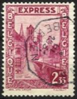"""Belgique - N014 - Expres - N°292D . Gand-Gent   Obl.MONS Curiosité """"fils Téléphoniques"""" - Other"""