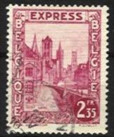 """Belgique - N015 - Expres - N°292D . Gand-Gent   Obl. LEUVEN Curiosité """"fils Téléphoniques"""" - Other"""