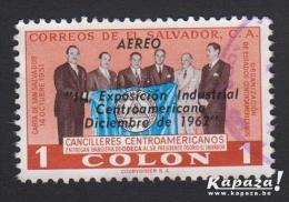 1962 - EL SALVADOR - Y&T 174 (PA) - Industrial Exhibition/Exposition Industriele - Salvador